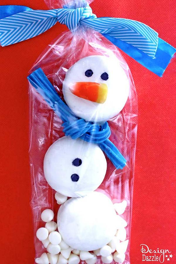 Oreo Snowman Treat