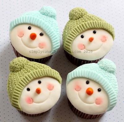 Cupcake Corner: Snowman Cupcakes - Hoosier Homemade