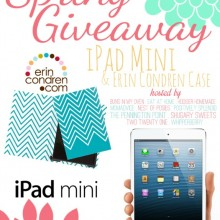 Mini iPad and Erin Condren Case Giveaway on HoosierHomemade.com