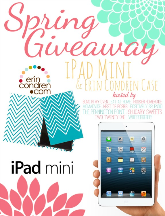Mini iPad and Erin Condren Case Giveaway on shugarysweets.com