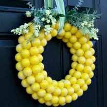 spring wreath 220
