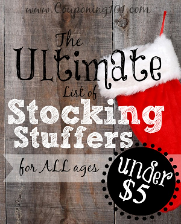 The Ultimate List of Stocking Stuffers : 100 Days of Homemade Holiday Inspiration on HoosierHomemade.com