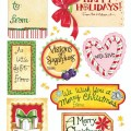 Gooseberry Patch Christmas Tags : 100 Days of Homemade Holiday Inspiration on Hoosier Homemade.com