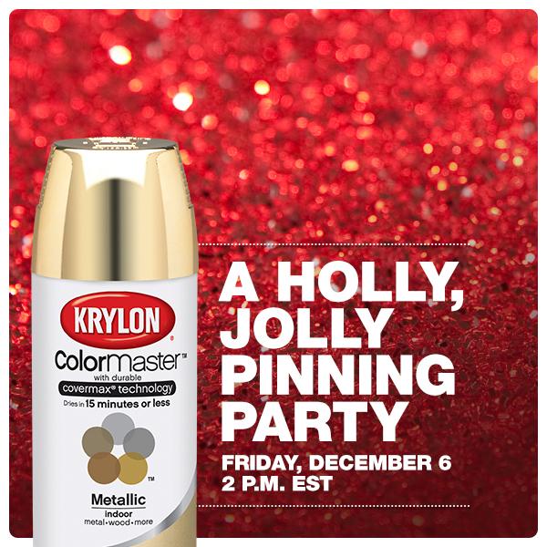 Krylon Pinterest Party