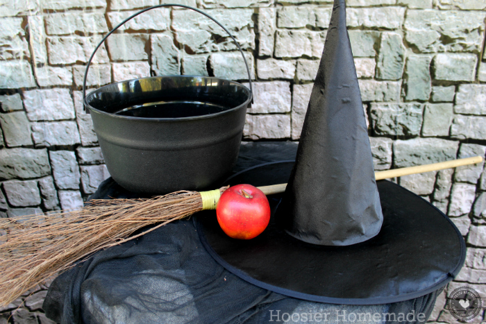 Witch Hat and Accessories